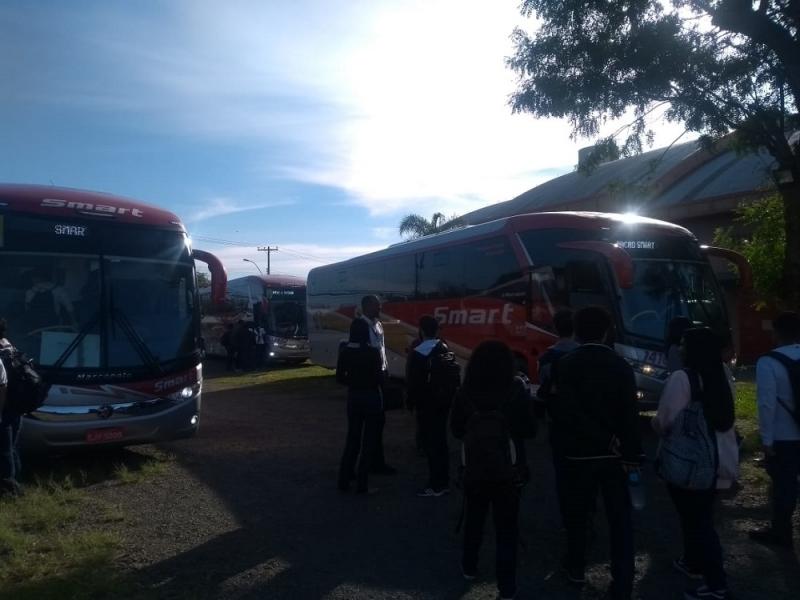 Aluguel de ônibus de Passeio Contratar Artur Nogueira - Aluguel de ônibus para Feira