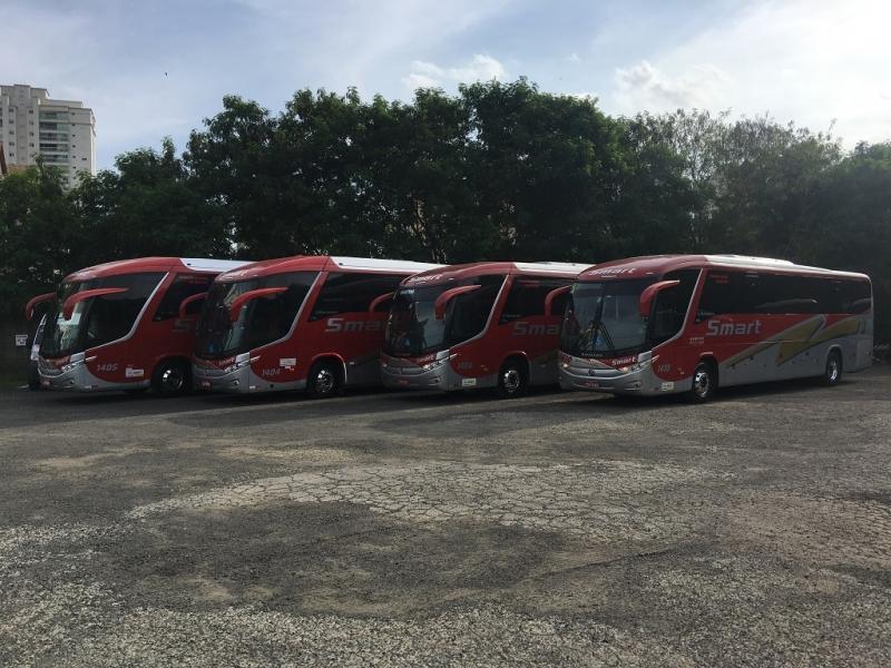 Aluguel de ônibus para Empresa Jaguariúna - Aluguel de ônibus para Feira