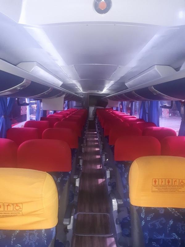 Aluguel de ônibus para Excursão Contratar Valinhos - Aluguel de ônibus Executivo