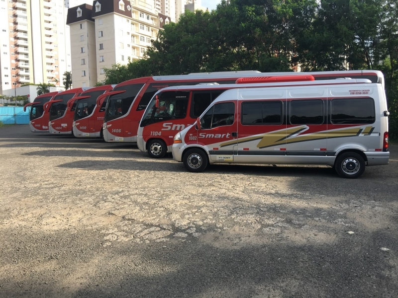 Aluguel de ônibus para Viagem Contratar Artur Nogueira - Aluguel de ônibus para Feira