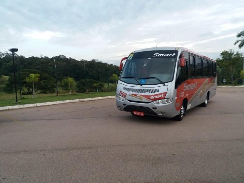 Empresa de Fretamento de ônibus para Confraternização Santo Antônio de Posse - Fretamento de ônibus Turismo