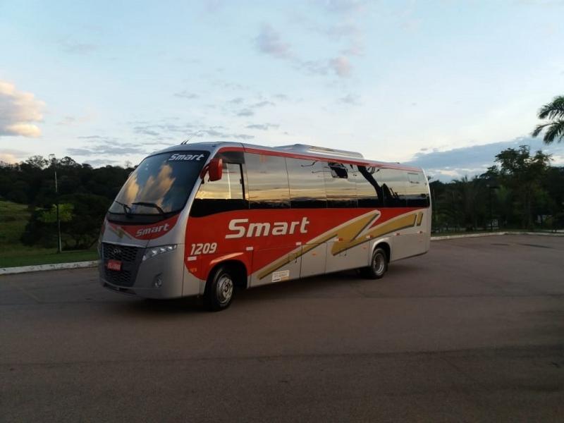 Fretamento de ônibus Contínuo Preço Cordeirópolis - Fretamento de ônibus de Turismo