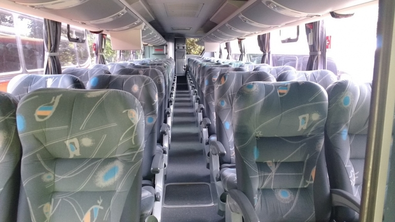 Fretamento de ônibus de Empresa Preço Salto - Fretamento de ônibus Turismo