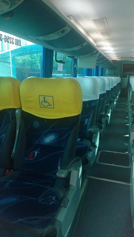 Fretamento de ônibus de Turismo Preço Campo dos Amarais - Fretamento de ônibus de Empresa