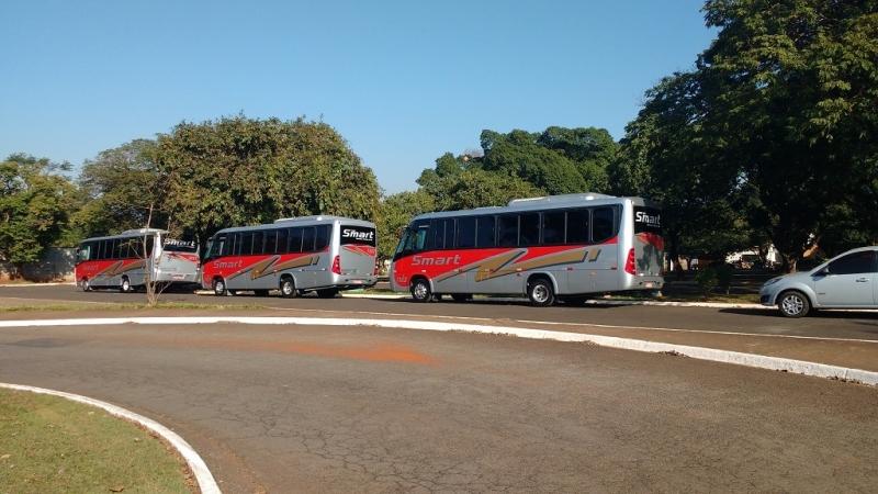 Fretamento de ônibus Empresa Preço Elias Fausto - Fretamento de ônibus Intermunicipal