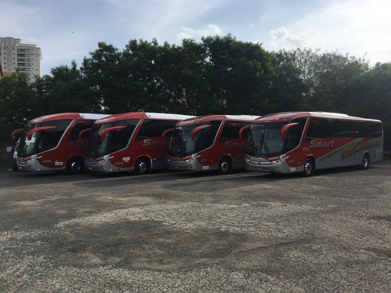 Fretamento de ônibus Eventual Paulínia - Fretamento de ônibus Turismo