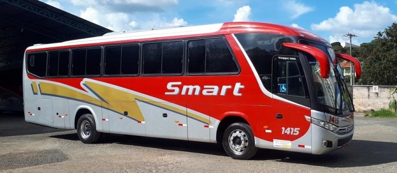 Fretamento de ônibus Interestadual Preço Botafogo - Fretamento de ônibus de Turismo