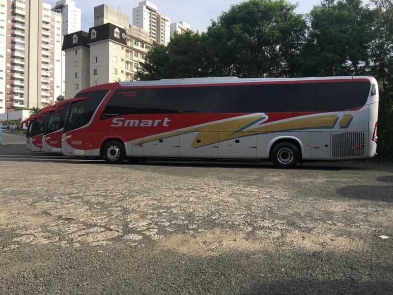 Fretamento de ônibus Intermunicipal Preço Holambra - Fretamento de ônibus Contínuo