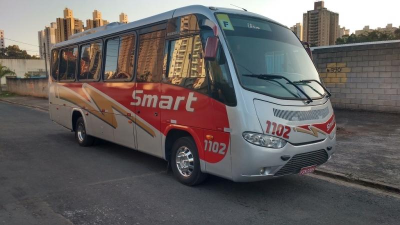 Fretamento de ônibus para Confraternização Preço Jardim Campinas - Fretamento de ônibus Contínuo