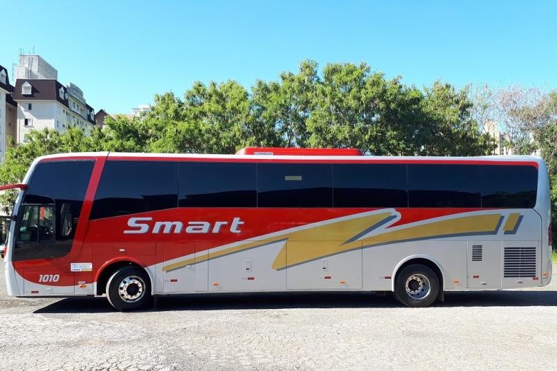 Fretamento de ônibus para Confraternização Cabreúva - Fretamento de ônibus Contínuo