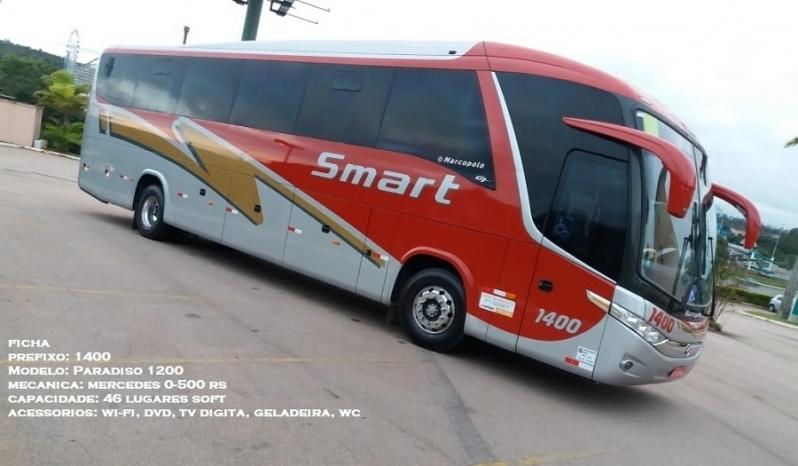 Fretamentos de ônibus Interestadual Jaguariúna - Fretamento de ônibus de Turismo