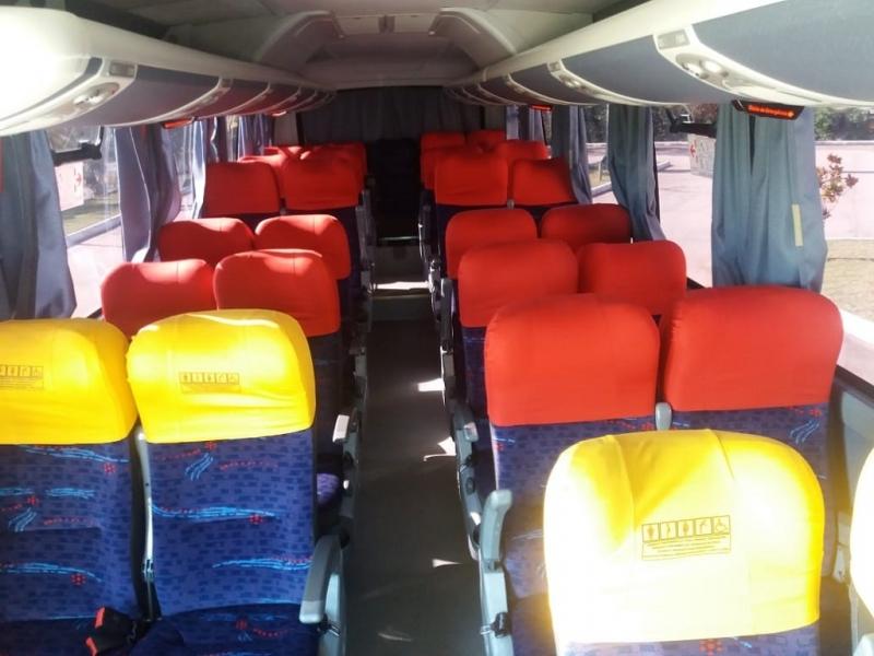 ônibus e Vans Fretados para Contratar Elias Fausto - ônibus para Transporte de Funcionários
