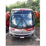 aluguel de micro-ônibus fretamento orçamento Monte Mor