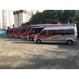 aluguel de micro-ônibus mensal Monte Mor