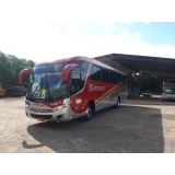 aluguel de ônibus com motorista contratar Monte Mor