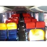 aluguel de ônibus com motorista Hortolândia