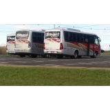 aluguel de ônibus de viagem corporativa contratar Americana