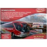 aluguel de ônibus de viagem corporativa valor Itatiba