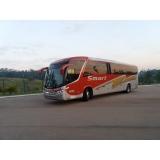 aluguel de ônibus de viagem corporativa Americana