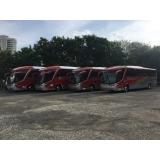 aluguel de ônibus para empresa Americana