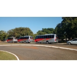 aluguel de ônibus para feira contratar Parque Prado