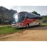 contratação de ônibus fretado para excursão Santo Antônio de Posse