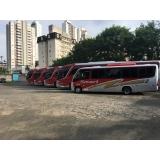 contratação de ônibus fretado para viagem Cambuí