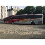 empresa de fretamento de ônibus de excursão Americana