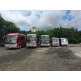 empresa de fretamento de ônibus intermunicipal Pedreira