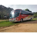 empresa de fretamento de ônibus turismo Pedreira