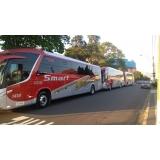 fretamento de ônibus contínuo Louveira