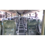 fretamento de ônibus de empresa preço Itapira