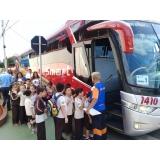 fretamento de ônibus de empresa Pedreira