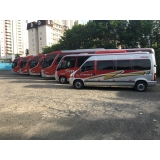 fretamento de ônibus de excursão preço Jardim Guanabara