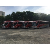fretamento de ônibus de excursão Americana