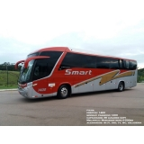 fretamento de ônibus de turismo Sumaré