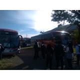 fretamento de ônibus excursão preço Campinas