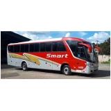 fretamento de ônibus interestadual preço Pedreira