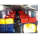 ônibus e vans fretados para contratar Monte Mor