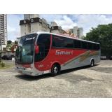 ônibus fretado mensal para empresa valor Cambuí