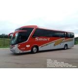 ônibus fretado para viagem valor Engenheiro Coelho