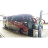ônibus e vans fretados