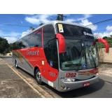 ônibus fretado para excursão
