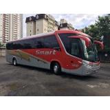 ônibus fretado para turismo