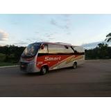 ônibus para transporte de funcionários