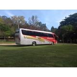 preço do aluguel de ônibus para excursão Cosmópolis