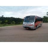 preço do aluguel de ônibus para executivo Centro