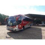 valor do fretamento de ônibus de empresa Sumaré