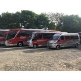 valor do fretamento de ônibus de excursão Cambuí