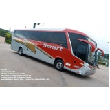 valor do fretamento de ônibus de turismo Sumaré